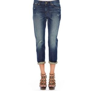 Michael Kors distressed boyfriend jeans size 8